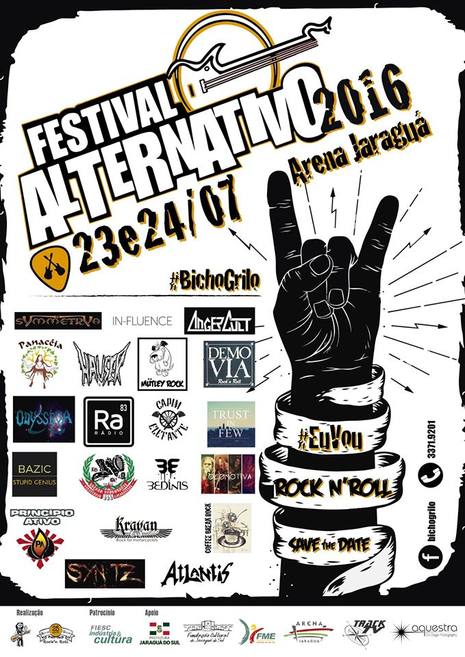 Cartaz Rock alternativo